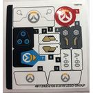 LEGO Sticker Sheet for Set 75975 (49112)