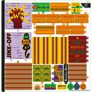 LEGO Sticker Sheet for Set 75978 (69369)