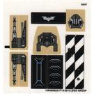 LEGO Sticker Sheet for Set 76001 (13049)