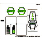 LEGO Sticker Sheet for Set 76016 (17210)