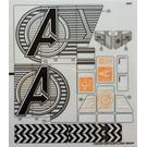 LEGO Sticker Sheet for Set 76038 (21031)