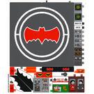 LEGO Sticker Sheet for Set 76052 (26423 / 26424)