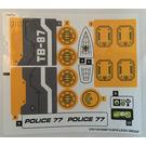 LEGO Sticker Sheet for Set 76059 (27070 / 27071)