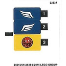 LEGO Sticker Sheet for Set 76065 (25916 / 25917)
