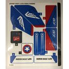 LEGO Sticker Sheet for Set 76076 (29680)