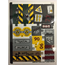 LEGO Sticker Sheet for Set 76078 (30697)
