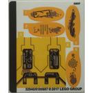 LEGO Sticker Sheet for Set 76080 (32940)