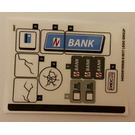 LEGO Sticker Sheet for Set 76082 (34523)