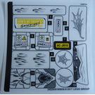 LEGO Sticker Sheet for Set 76083 (34524)