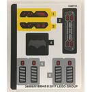 LEGO Sticker Sheet for Set 76086 (34986)