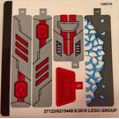 LEGO Sticker Sheet for Set 76098 (37123)