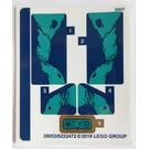 LEGO Sticker Sheet for Set 76101 (30853)