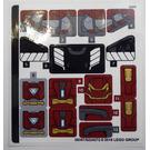 LEGO Sticker Sheet for Set 76104 (38357)