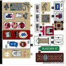 LEGO Sticker Sheet for Set 76108 (38535)