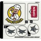 LEGO Sticker Sheet for Set 76108 (38536)