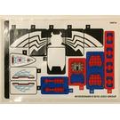 LEGO Sticker Sheet for Set 76115 (46155)