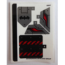LEGO Sticker Sheet for Set 76117 (46105)
