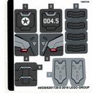 LEGO Sticker Sheet for Set 76124 (49539)