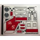 LEGO Sticker Sheet for Set 76127 (49534)