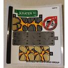 LEGO Sticker Sheet for Set 76128 (54707)