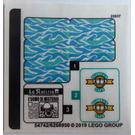 LEGO Sticker Sheet for Set 76129 (54742)