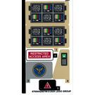 LEGO Autocollant Sheet for Set 76157 (67654)