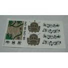 LEGO Sticker Sheet for Set 7623 (62507)
