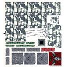 LEGO Sticker Sheet for Set 7627 (63672)