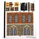 LEGO Sticker Sheet for Set 76382 (73768)