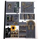 LEGO Sticker Sheet for Set 76383 (73769)