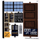 LEGO Sticker Sheet for Set 76385 (73790)