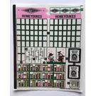 LEGO Sticker Sheet for Set 76388