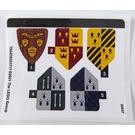 LEGO Sticker Sheet for Set 76395