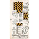 LEGO Sticker Sheet for Set 7703 (55080)