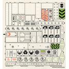 LEGO Sticker Sheet for Set 7709 (56746)