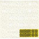 LEGO Sticker Sheet for Set 7760
