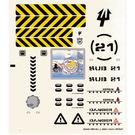 LEGO Sticker Sheet for Set 7775 (58840)