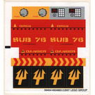 LEGO Sticker Sheet for Set 7776 (59404)