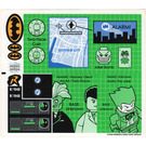 LEGO Sticker Sheet for Set 7783 (57002)