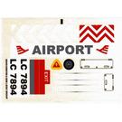 LEGO Sticker Sheet for Set 7894-1 (55545)