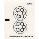 LEGO Sticker Sheet for Set 79102 (13055)