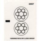 LEGO Sticker Sheet for Set 79102 (13055)