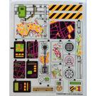 LEGO Sticker Sheet for Set 79117 (17426)