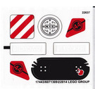 LEGO Sticker Sheet for Set 79118 (17443)