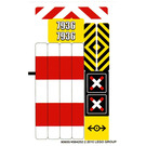 LEGO Sticker Sheet for Set 7936 (90600)