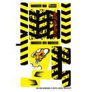 LEGO Sticker Sheet for Set 7968 (88166)