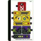 LEGO Sticker Sheet for Set 80018 (76909)