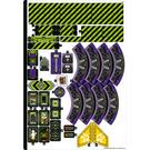 LEGO Sticker Sheet for Set 80022 (76913)