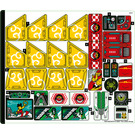 LEGO Sticker Sheet for Set 80023 (76914)
