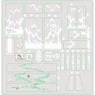 LEGO Sticker Sheet for Set 80024 (76915)